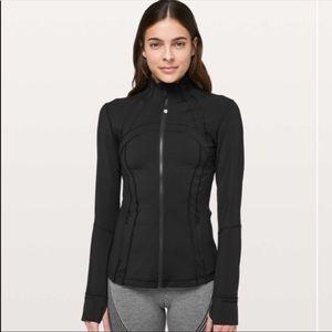LULULEMON Define Jacket Zip Up Thumbholes  Black